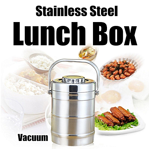 Buy Generic Vacuum Insulated Lunch Box Stainless Steel Jar Hot