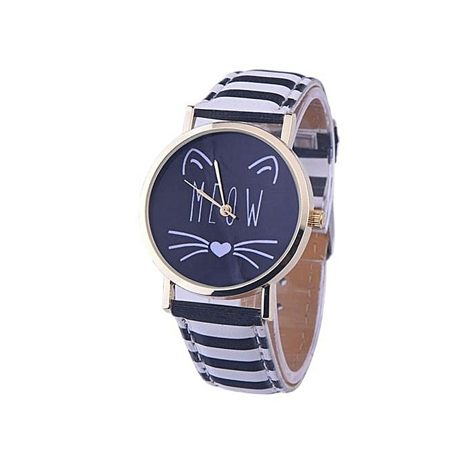 products hsn navy watches anne d goldtone leather watch strap klein faux