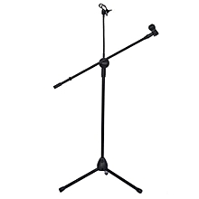 Music Mic Microphone Stand Tablet Mount With 360° Swivel Adjust Holder
