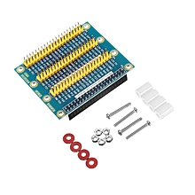 Expansion Board GPIO With Screw & Nut & Adhesinverubber Feet & Nylon Fixed Seat For Raspberry Pi 2/3