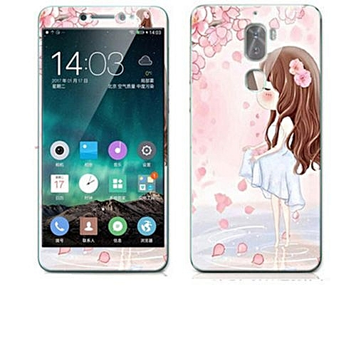cheap for discount 90995 0f96a Luxury 3D Painting Front+Back Full Case Cover Color Tempered Glass Case For  Letv LeEco Cool 1 Changer Cool1C 5.5 inch Screen Protector Film (Color-12)
