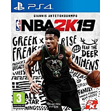 PS4 Game NBA 2K19