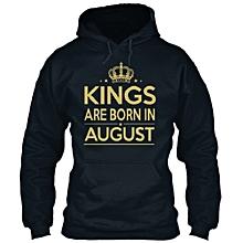 Kings are Born Hoodie - Black