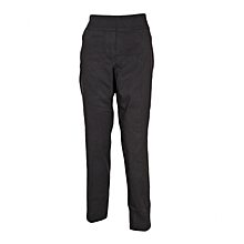 Black Classic Pull On Fit Trousers