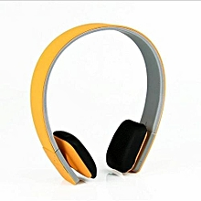 Earphone for Sport, LC8200 Wireless Sport Headset Bluetooth 4.0 Handsfree Stereo Headset(Yellow)