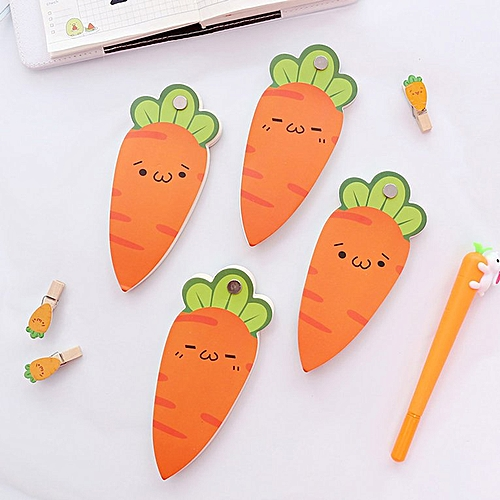HP Creative Carrot Notebook Kraft Paper Cover Book Hand Account Stationery