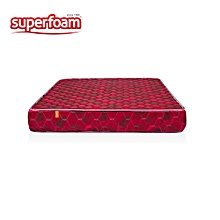 Superfoam Heavy Duty Quilted Foam Mattress - Multicolored