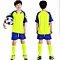 Customized Blank Children Boy's  Brand Football Soccer Team Training Jerseys Uniform-Blue