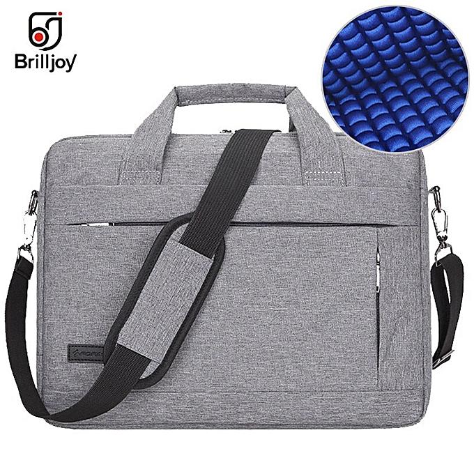 1699c3ffc9c1 Brilljoy Men Women Travel Briefcase Bussiness Notebook Bag for Large  Capacity Laptop Handbag for 14 15