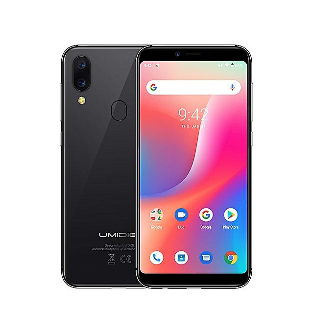 A3 5 5-Inch (2+16GB ROM) 12MP + 5MP Dual SIM 4G Smartphone SpaceGray