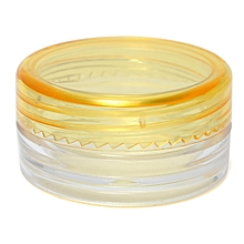 1PCS 3g Empty Jar Pot Cosmetic Face Cream Bottle Container Screw Lid Candy Color 30x30x14mm