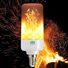 LED Light Bulb Leaping Flickering Flame E14 - Warm White