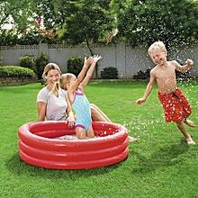 Bestway 40 '' Kids  Play Pool 102cm x Н25cm Colour Red