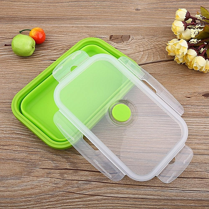 Universal Tmishion Silicone Collapsible Portable Bowl Bento Boxes