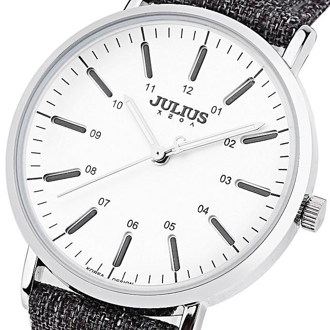 Leadsmart JULIUS JA - 910 Women Quartz Watch Ultrathin Dial 3ATM Luminous Wristwatch .