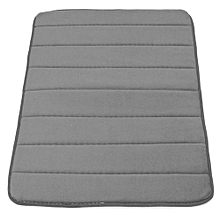 Memory Foam Bath Bathroom Bedroom Floor Shower Mat Rug Non-slip Water Absorbent Grey