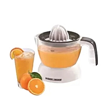 Black & Decker Citrus Juicer With Hand Press - Silver & Black