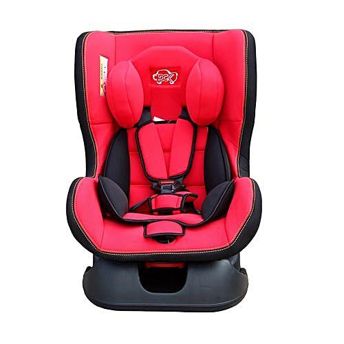 Baby Car Seat - Black & Red