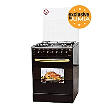EB/310- 4Gas+Rotiserie+Auto Ignition Cooker