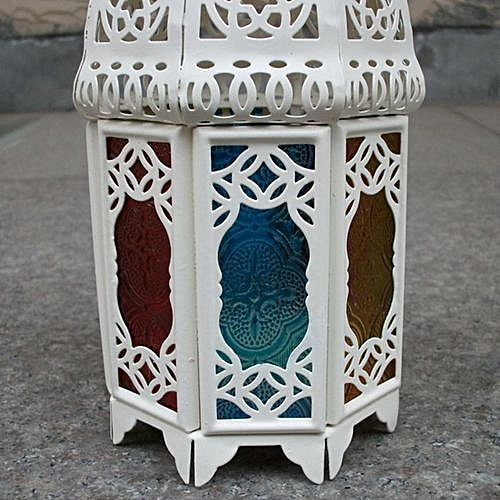 Buy Generic Retro Castle Iron Hollow Candlestick Christmas Decoration Gift Home Decor Best