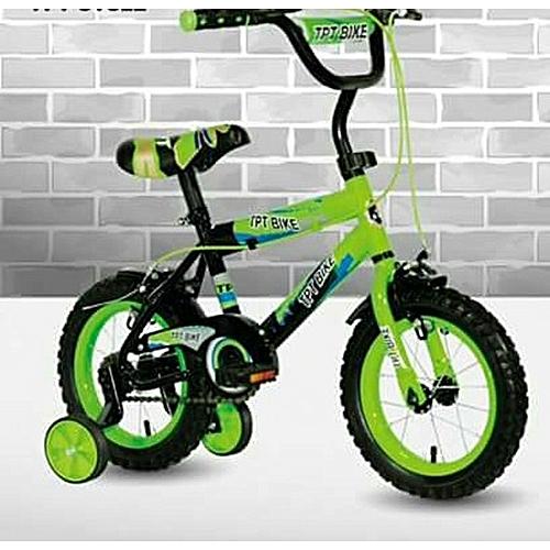 Exercise Bike Jumia Kenya: Generic TPT Wiz Kid Bike 12''- Green 2-4yrs @ Best Price