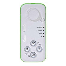 Wireless Bluetooth Game Controller Remote Control for Android iOS PC (White)