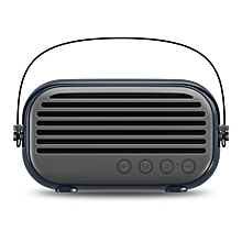 NR - 3000 Portable Wireless Bluetooth Stereo Speaker Mini Player-DEEP BLUE