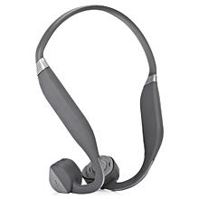 F1 Wireless Bone Conduction Bluetooth Headset-GRAY
