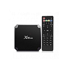 Mini 1GB 8GB Android TV Box Digital Player - Black