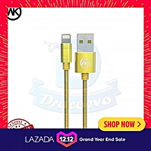 Remax WK Design King Kong Iron Wire Lightning Data Cable Apple WDC-013 DIOKKC