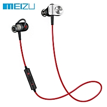 origin-al Meizu EP51 Bluetooth Sports Earbuds HiFi with Mic Support Hands-free Calls - RED WITH BLACK
