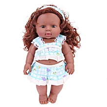 African black girls doll 30cm tall talking moveable joints