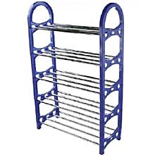 Shoe Rack Blue