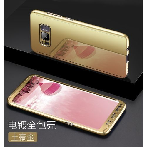 """Samsung S8 360 Full Electroplate """"3 in 1"""" Phone Cover."""