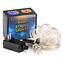 360 LED Copper Wire Branch String Lights - White