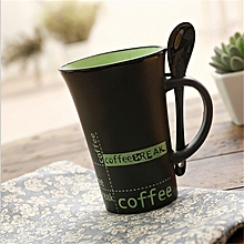 Coffe Mug- Green inside