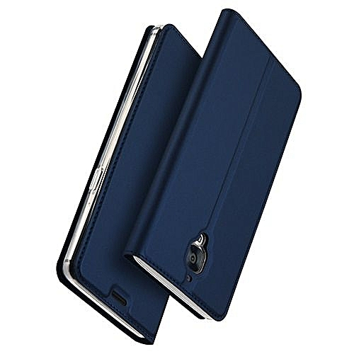 quality design 689e3 a18df For Oneplus 3 3T case Oneplus 3T Case Luxury PU Leather Flip Cover Wallet  Phone Case For One plus 3 3T Protective Case-Blue