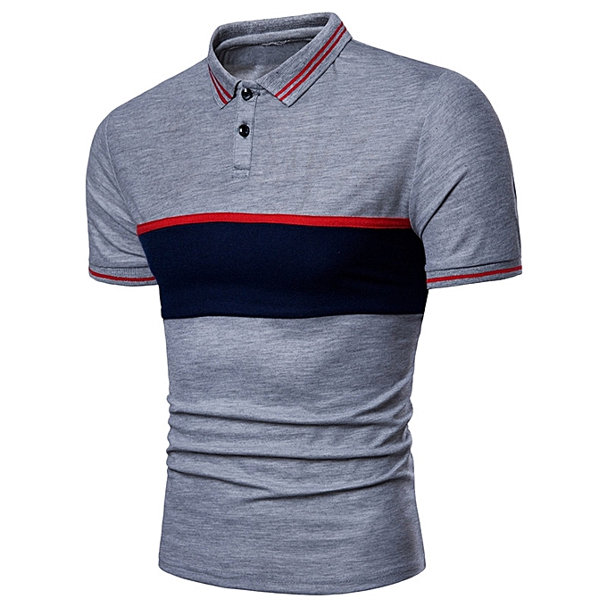 341df08fafc New 2018 Brand POLO Shirt Men Cotton Fashion Patchwork Camisa Polo Men  Summer Short-sleeve