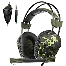 Plus 3.5mm Wired Gaming Headsets Over Ear Headphones Noise Canceling Earphone with Microphone Volume Control for PC Laptop PS4  XBOX ONE