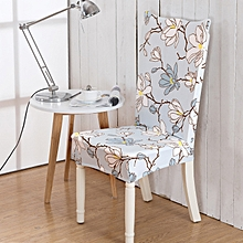 Honana WX-918 ElegantFlower Elastic Stretch Chair Seat Cover Computer Dining Room Home Wedding Decor