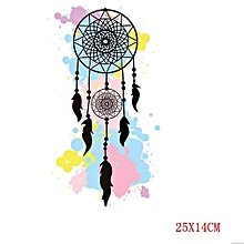 Creative DIY 3D Dreamcatcher Pattern T-Shirt Press Heat Transfer Sticker
