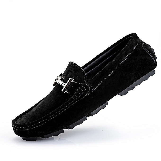b2deea7f7cc730 EUR 37-46 New Men Loafers Casual Shoes High Quality Suede Leather Moccasins  Men Flats
