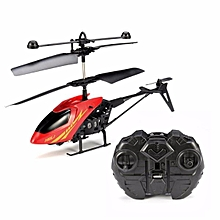 MJ 2CH Remote Control RC Helicopter With Gyro Red