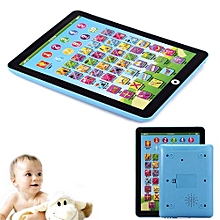 Kids Children English And Numeral Learning Toy Tablet - Blue