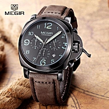 MEGIR Mens Watches Luxury Brand Famous Date Chronograph Watches For Men Waterproof Sport Military Watch Male Clock Montre Homme 3406