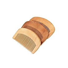 Hair Health Care Natural Peach Wood Comb Close Teeth Anti-Static Head Massage