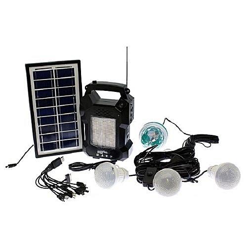 Solar Powered Emergency Lamp - GD 8050