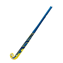 "Hockey Stick Trilium Composite 36""- Yellow-Blue-Royal- L"