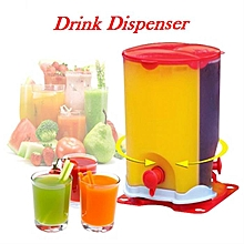 Rotating 3 Compartment Beverage Dispenser, for Beer and Juice,With Spigot