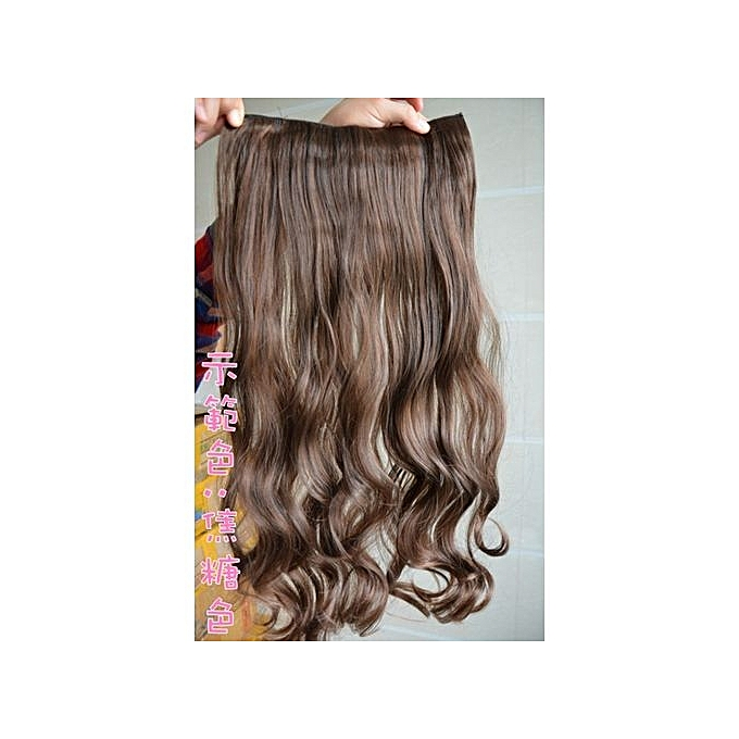 Buy Ht Cf One Piece Clip In Hair Extensions Synthetic Hair Clip On